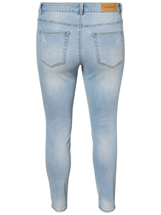 SLIM JEANS, Light Blue Denim, large