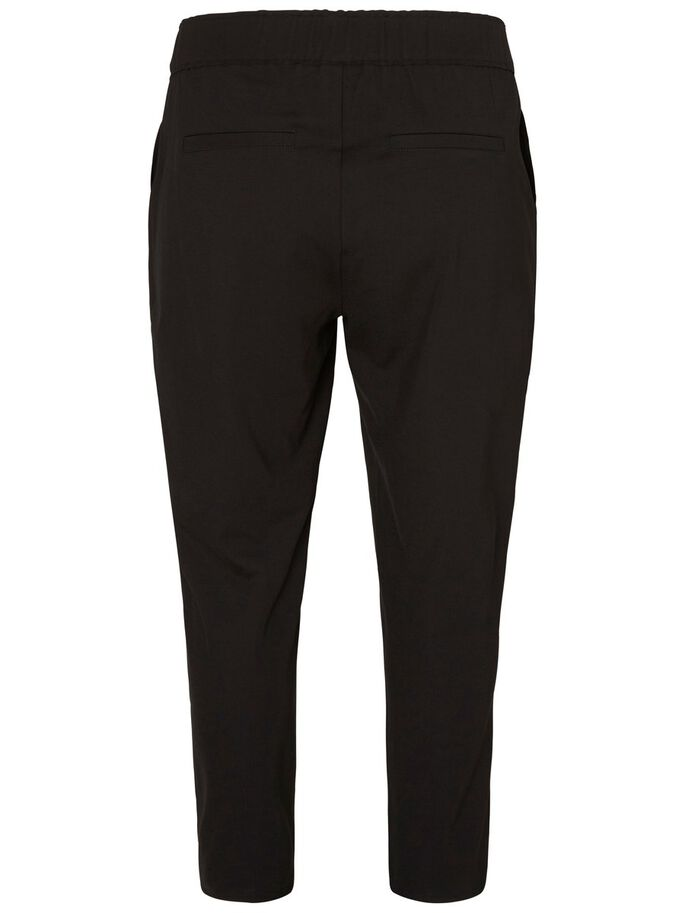 FEMININE TROUSERS, Black, large
