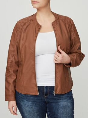 LEDERLOOK- JACKE