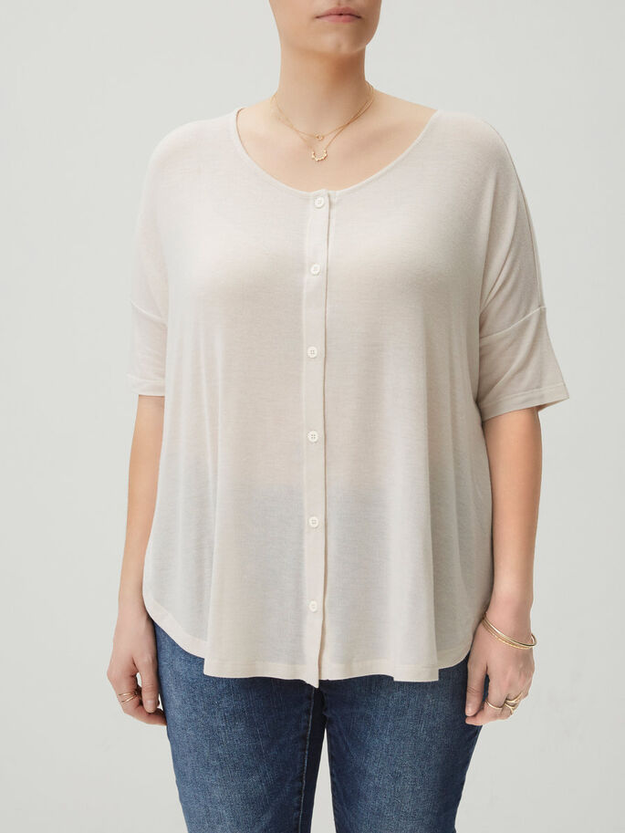 LOOSE BLOUSE, Moonbeam, large