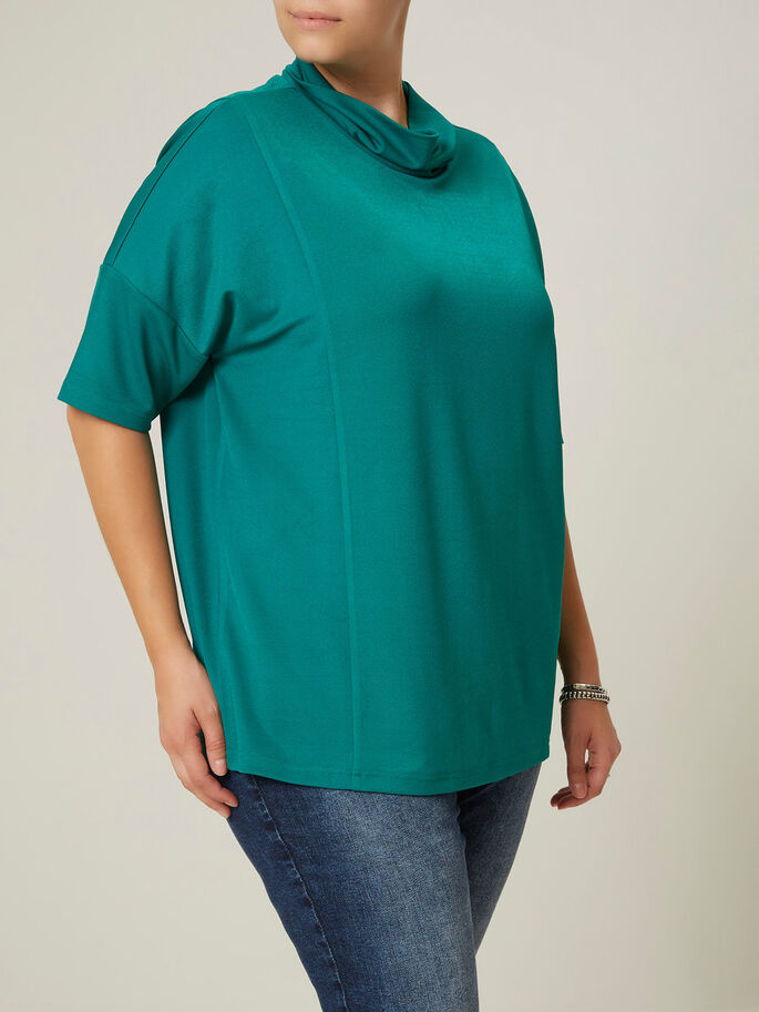 MANCHES 2/4 BLOUSE, Cadmium Green, large