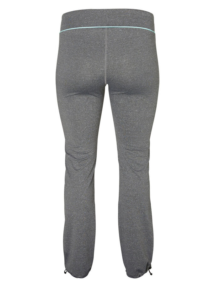 SPORT BROEK, Medium Grey Melange, large