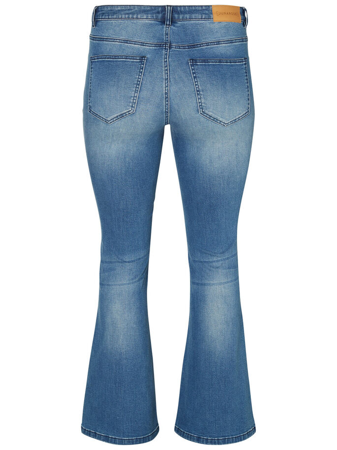 JRTWIG UTSVÄNGDA JEANS, Medium Blue Denim, large