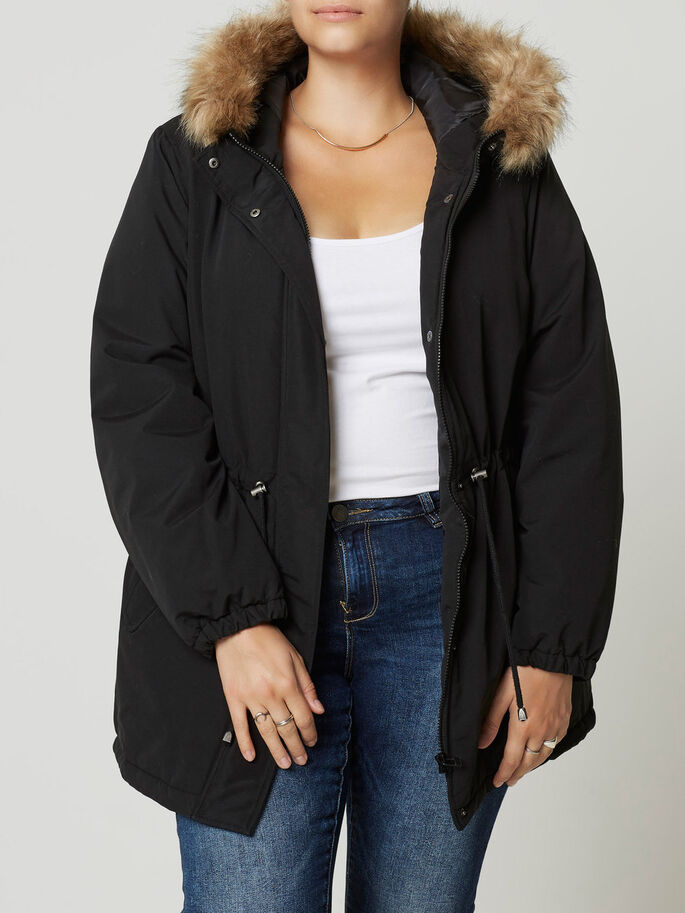 PARKA- JACKE, Black, large