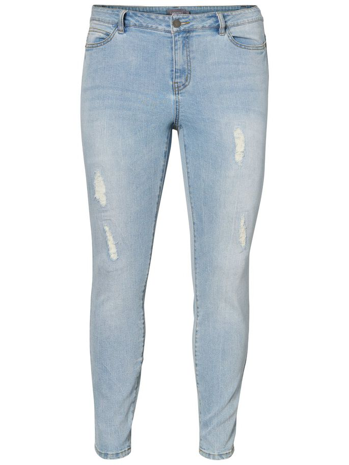 SLIM- JEANS, Light Blue Denim, large