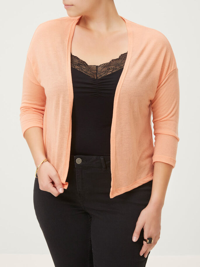 JERSEY CARDIGAN, Canyon Sunset, large