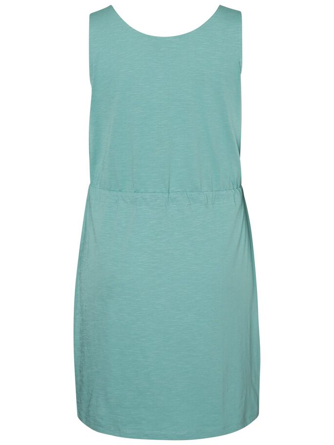 SLEEVELESS DRESS, Oil Blue, large