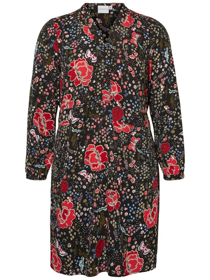 FLOWERED DRESS, Black Beauty, large