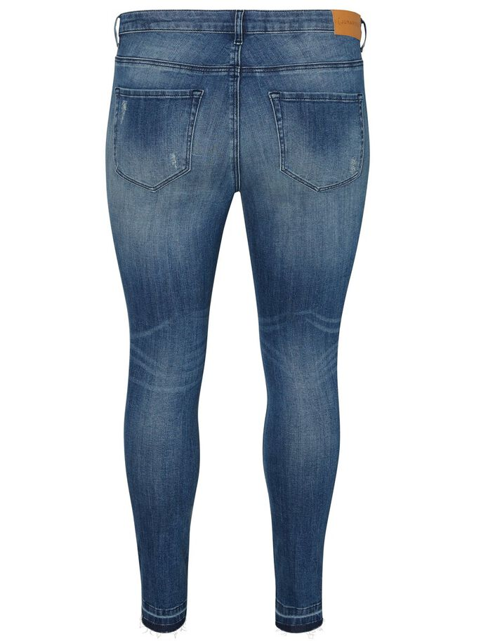 BLEU DÉCHIRÉ JEAN, Medium Blue Denim, large