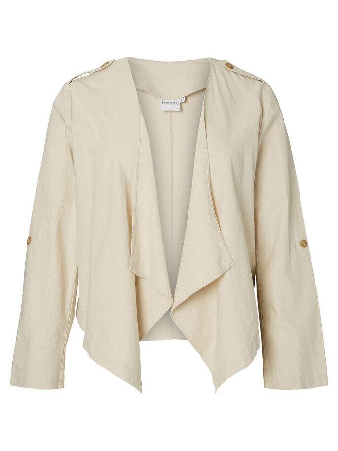 MANCHES 3/4 BLAZER, Whitecap Gray, large