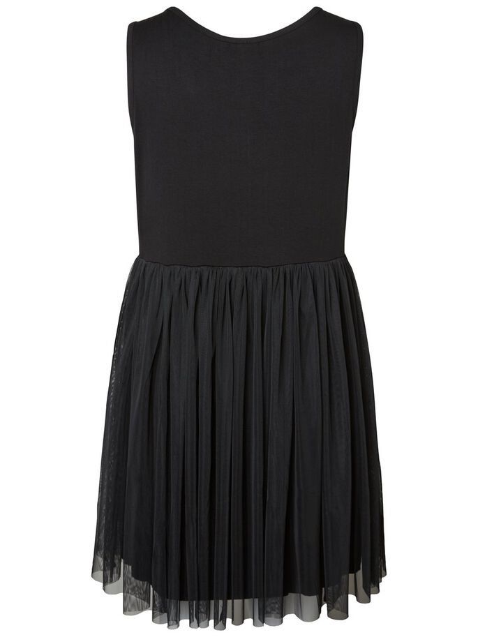 ÄRMELLOSES KLEID, Black, large