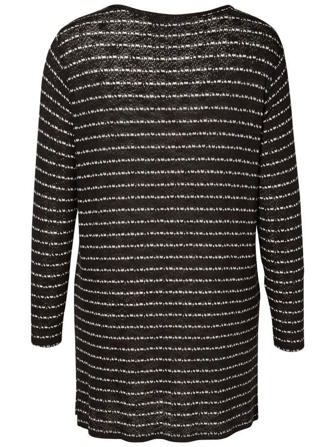 LANGE BLOUSE, Black, large