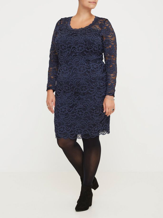 LACE SKIRT, Black Iris, large
