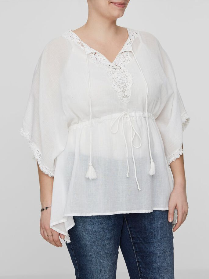 OVERSIZE BLOUSE, Snow White, large
