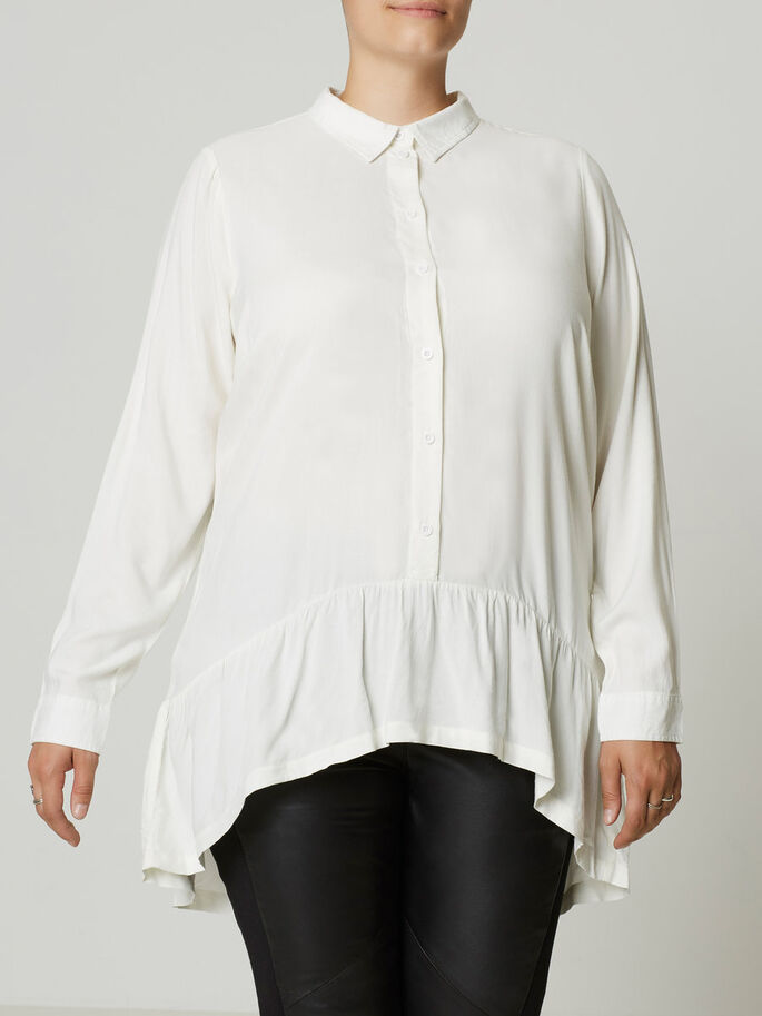 LONG SLEEVED SHIRT, Snow White, large