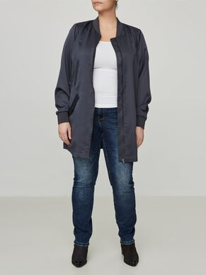 SPRING LONG BOMBER JACKET