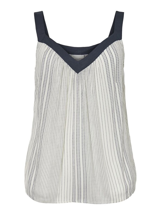 SLEEVELESS TOP, Vanilla Ice, large