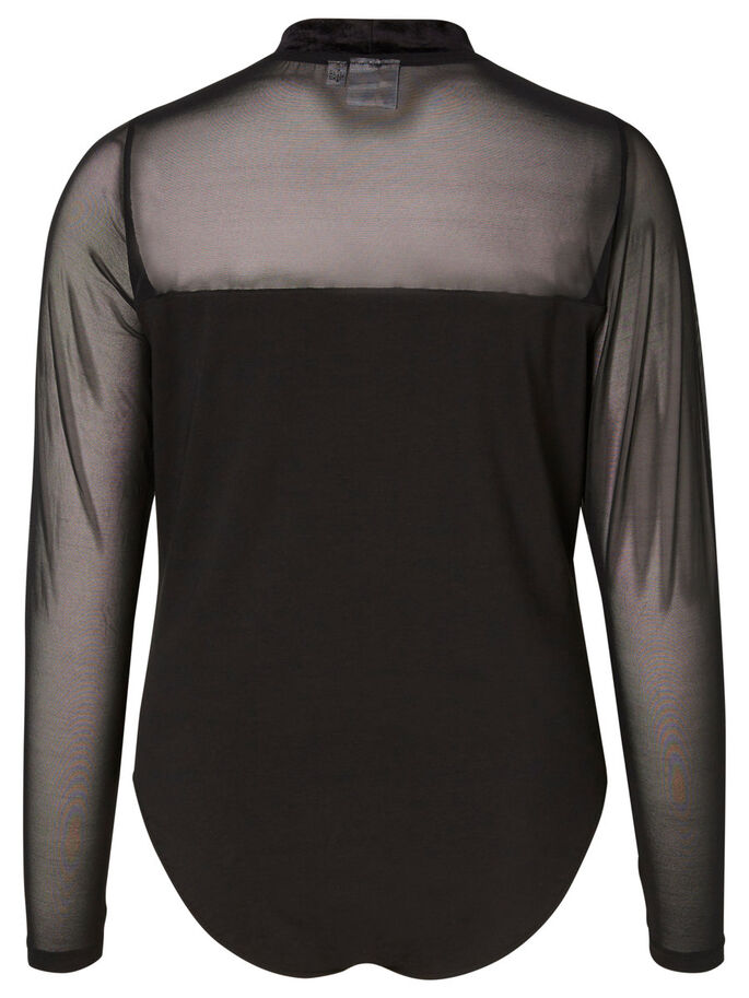LANGERMET BODY, Black, large