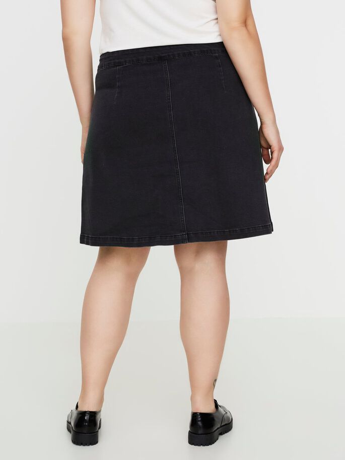 DENIM ROK, Dark Grey Denim, large