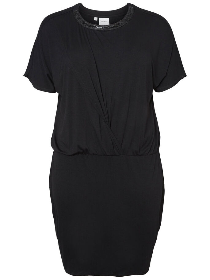 KURZE KLEID, Black, large
