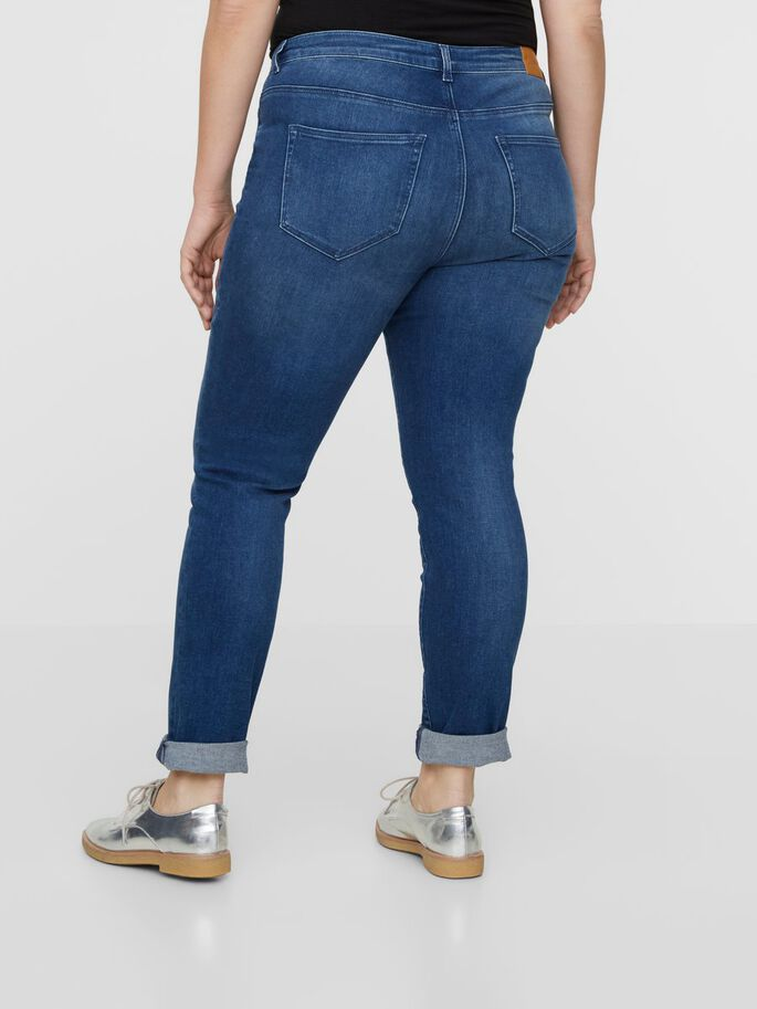 SLIM JEAN, Medium Blue Denim, large