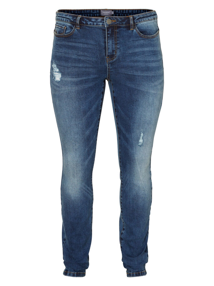 JRFIVE SLIM FIT JEANS, Medium Blue Denim, large
