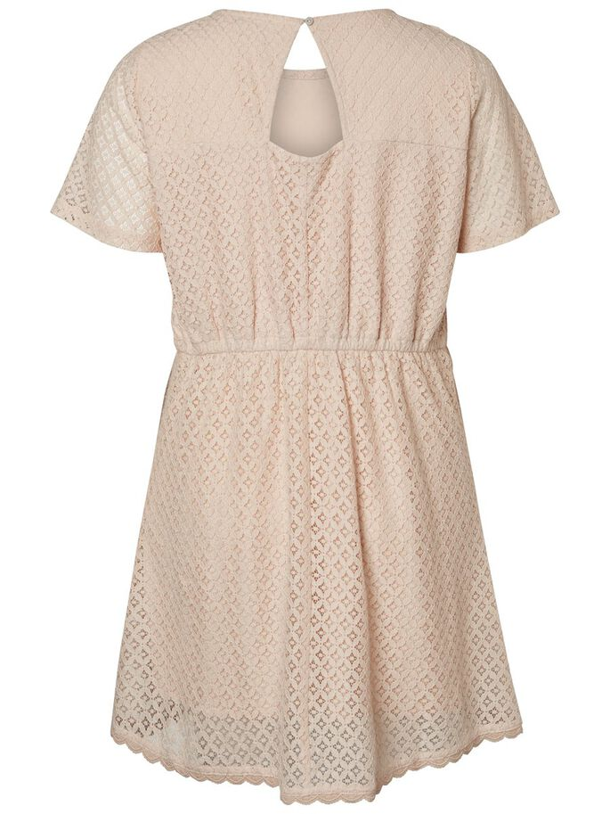 KNIELANGES KLEID, Peach Whip, large