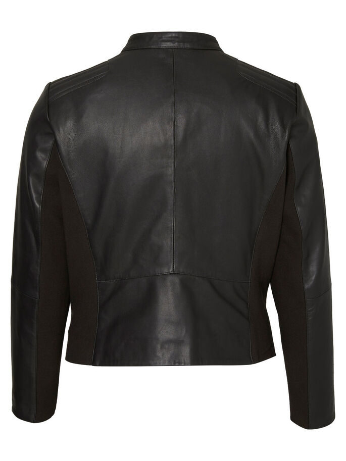 CUIR VESTE, Black, large