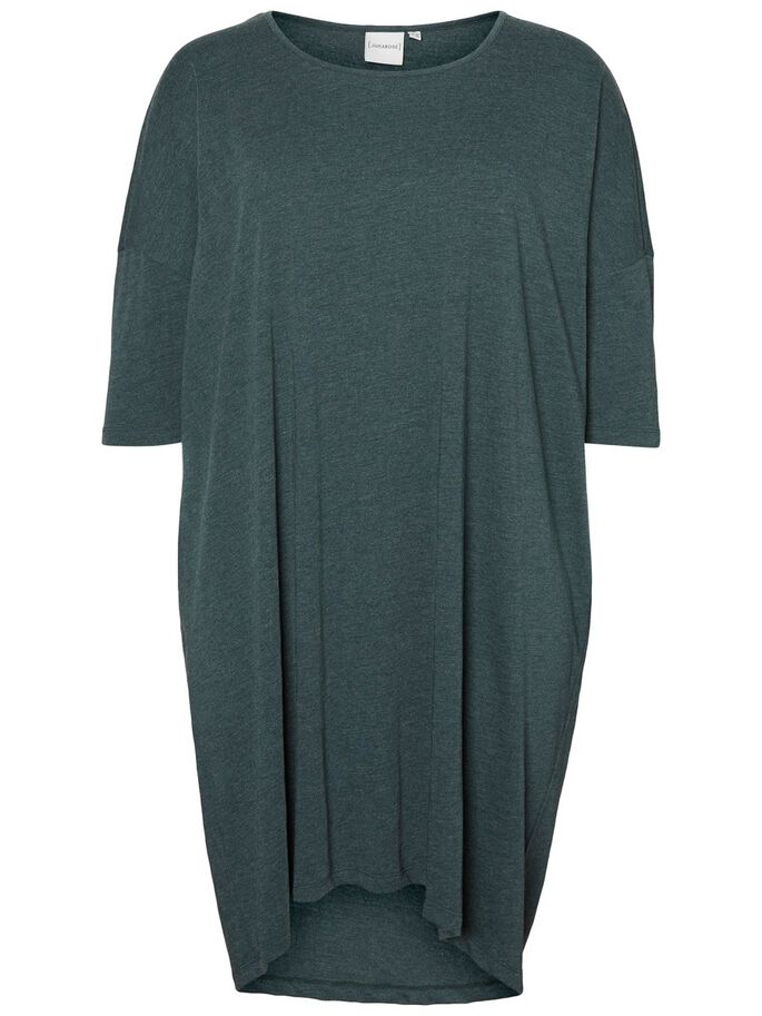 3/4 SLEEVED DRESS, Green Gables, large