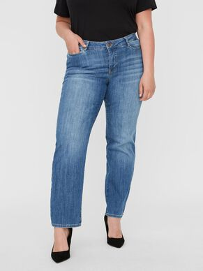 NORMAL WAIST STRAIGHT FIT JEANS