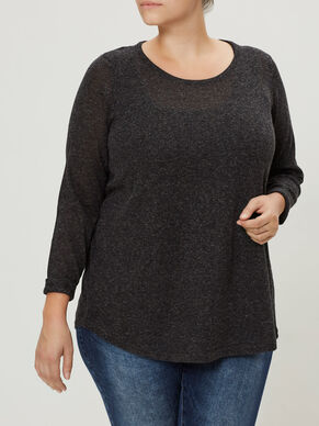 WRAP BACK KNITTED PULLOVER