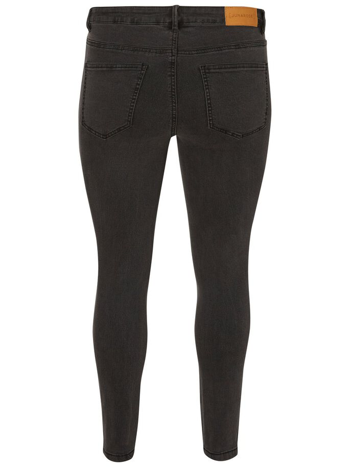 SLIM JEANS, Dark Grey Denim, large