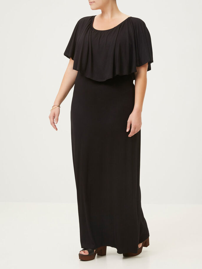 MAXI ROBE, Black, large