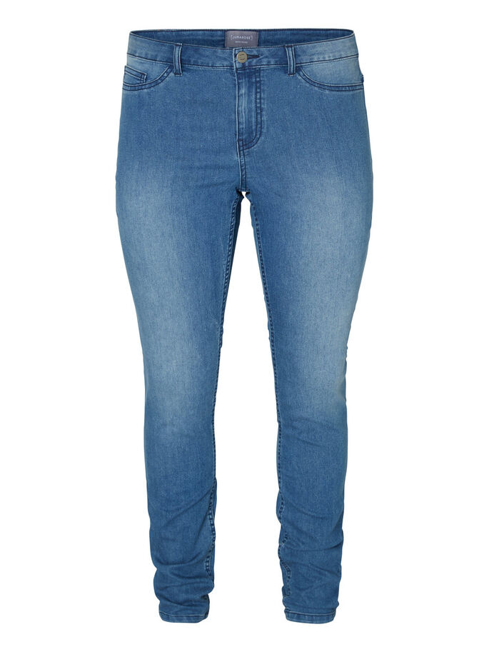 JRQUEEN JEANS, Medium Blue Denim, large