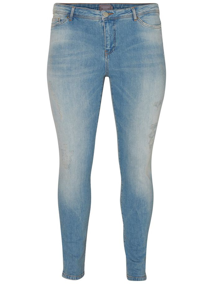 SLIM FIT JEANS, Light Blue Denim, large