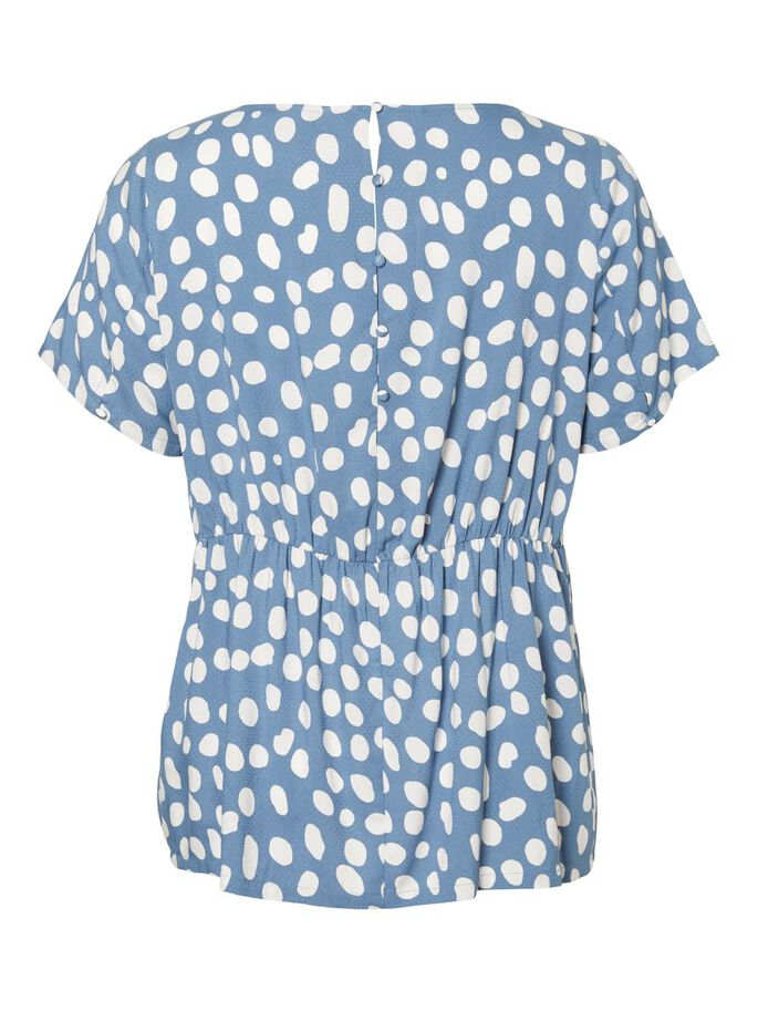 PRINTED T-SHIRT, Copen Blue, large