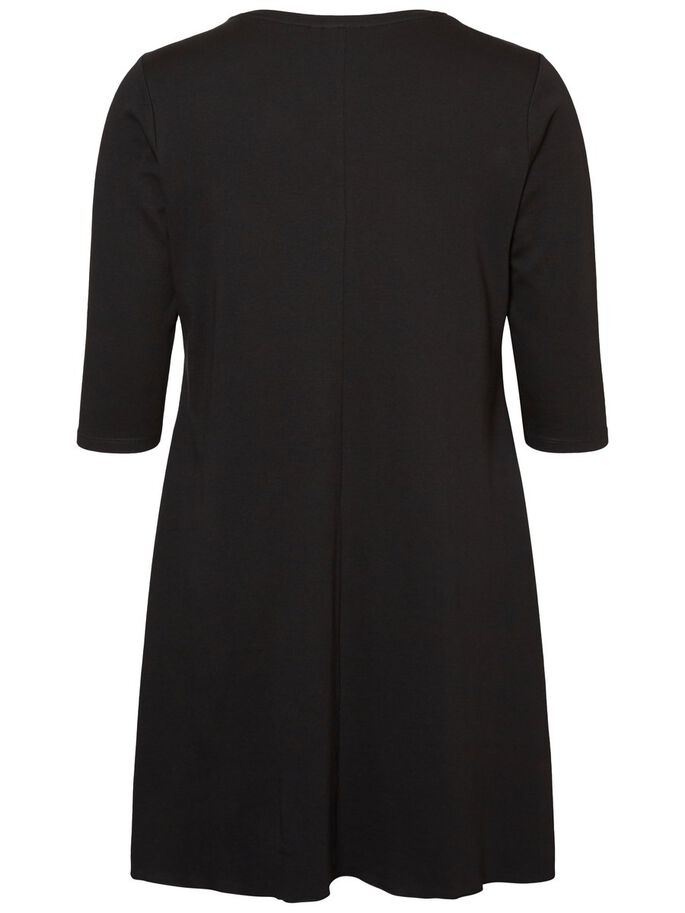 MANCHES 3/4 ROBE, Black Beauty, large