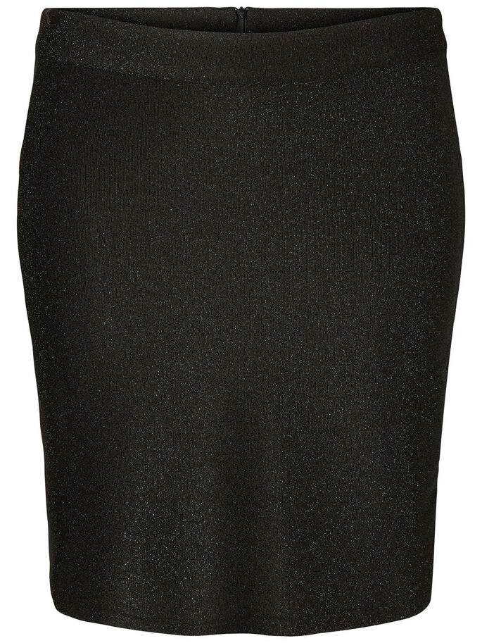 SLIM SKJØRT, Black, large