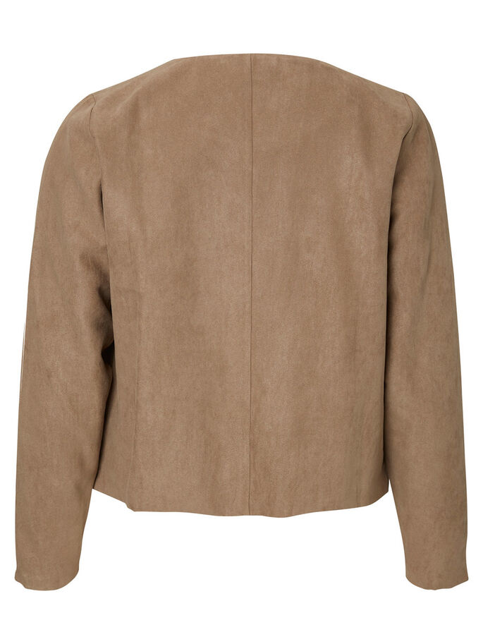 SUEDE LOOK BLAZER, Fossil, large