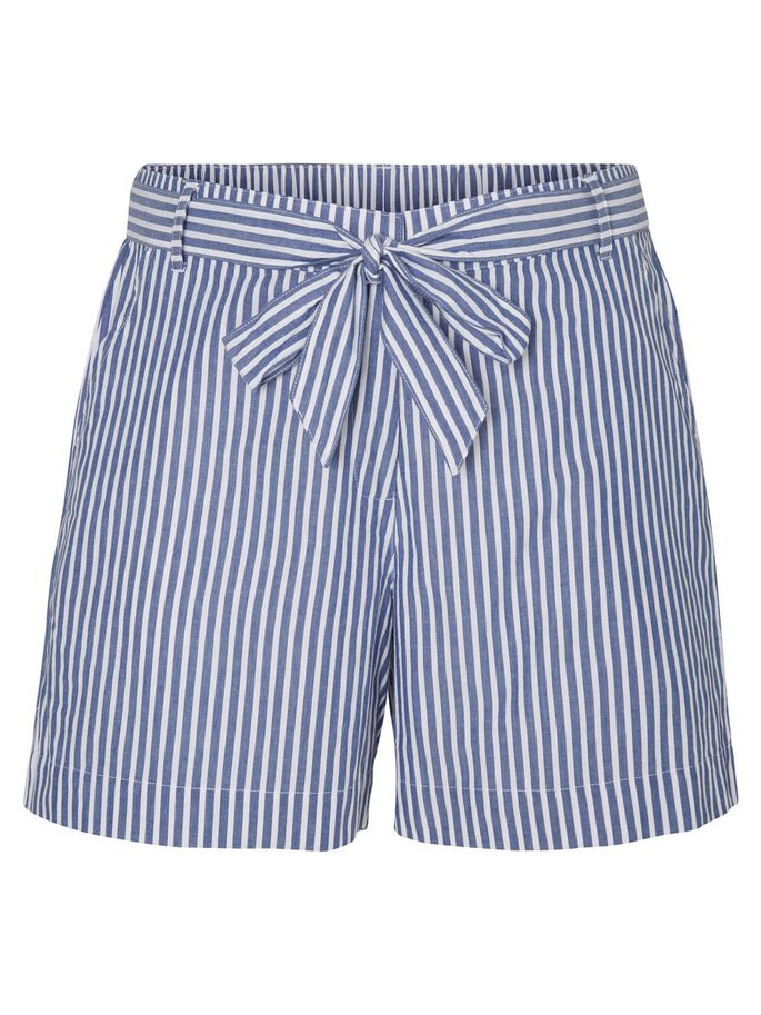 STRIPED SHORTS, Bijou Blue, large