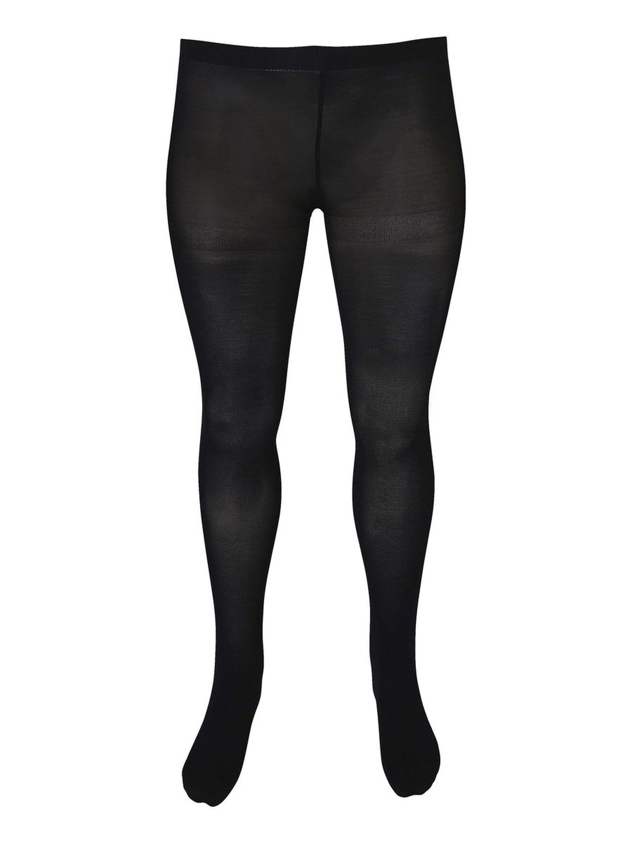Image of   JUNAROSE 2-pak Normal Waist Tights Kvinder Sort
