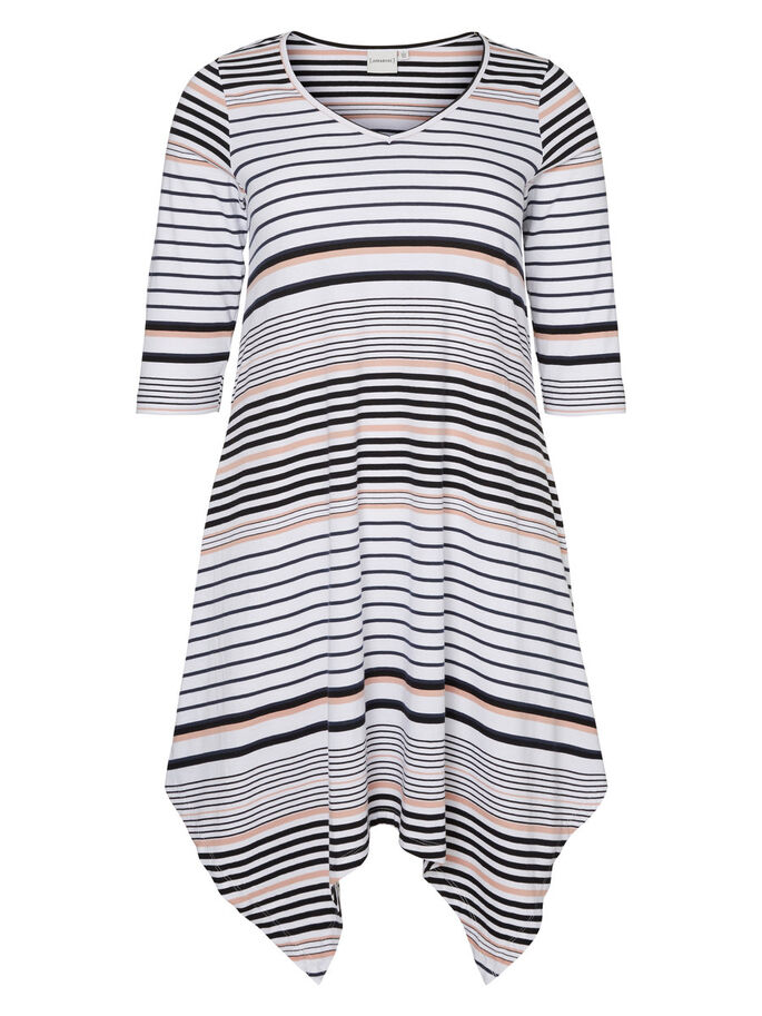 STRIPED TUNIC, Snow White, large