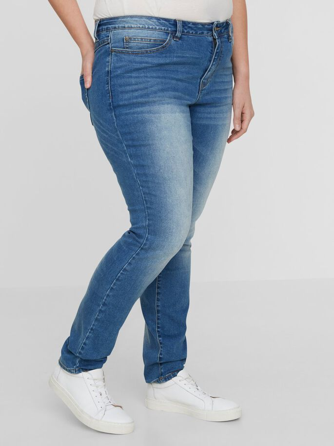 SMALE JEANS, Medium Blue Denim, large