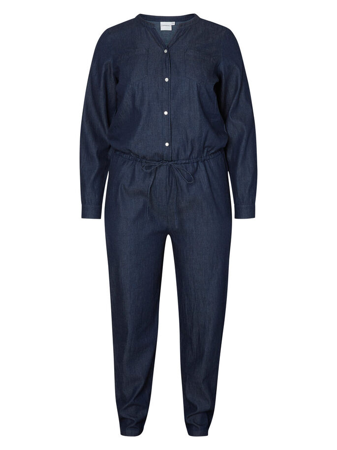 LANGE MOUW JUMPSUIT, Black Iris, large