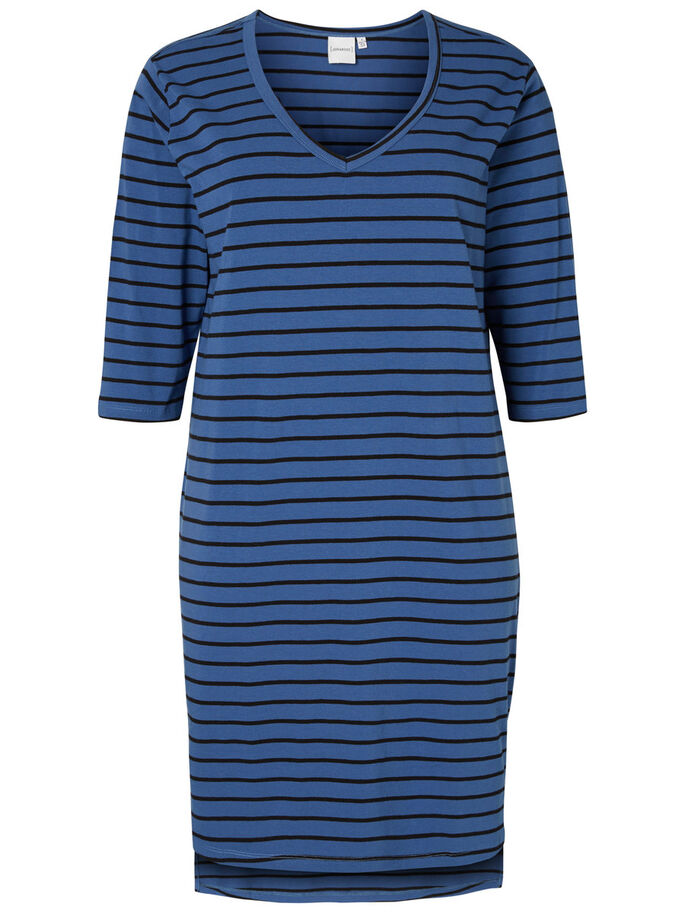 3/4-ÄRMELIGES KLEID, True Navy, large