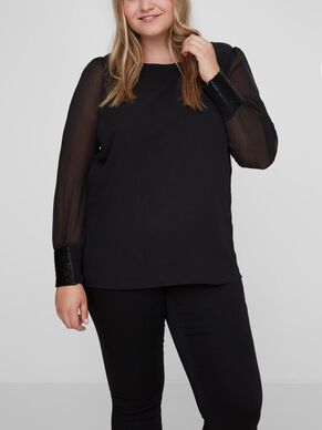 LONG SLEEVED LONG SLEEVED BLOUSE