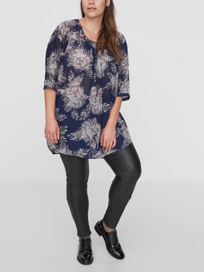 FLOWERED TUNIC