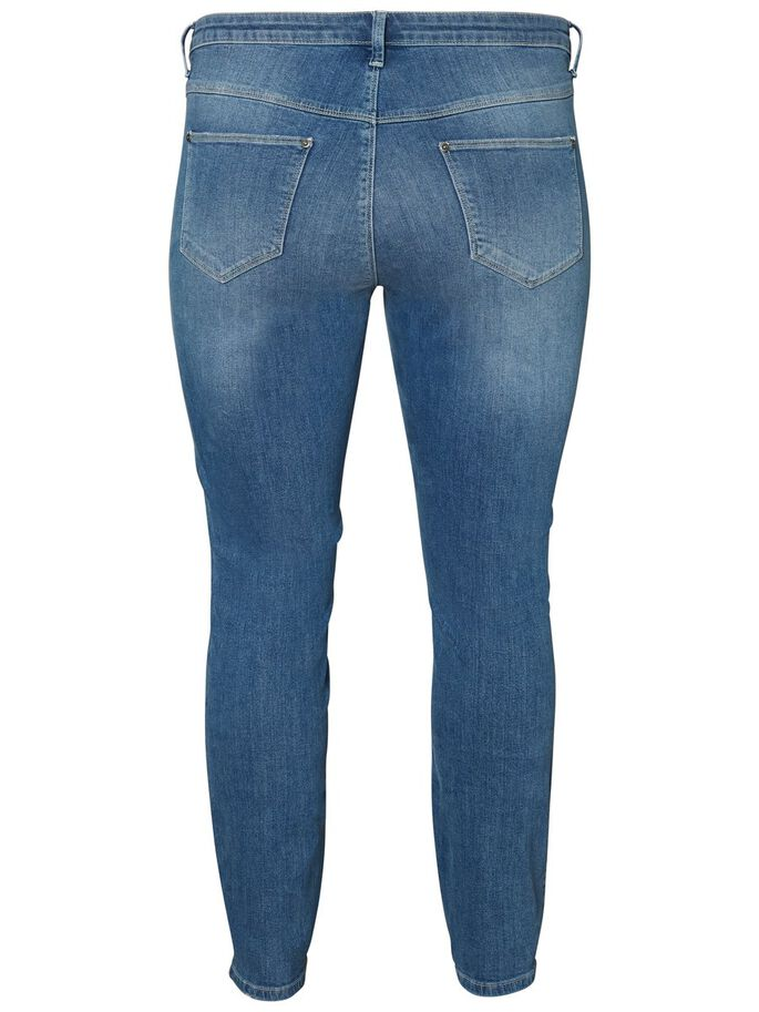 JEANS SLIM FIT JEANS, Medium Blue Denim, large