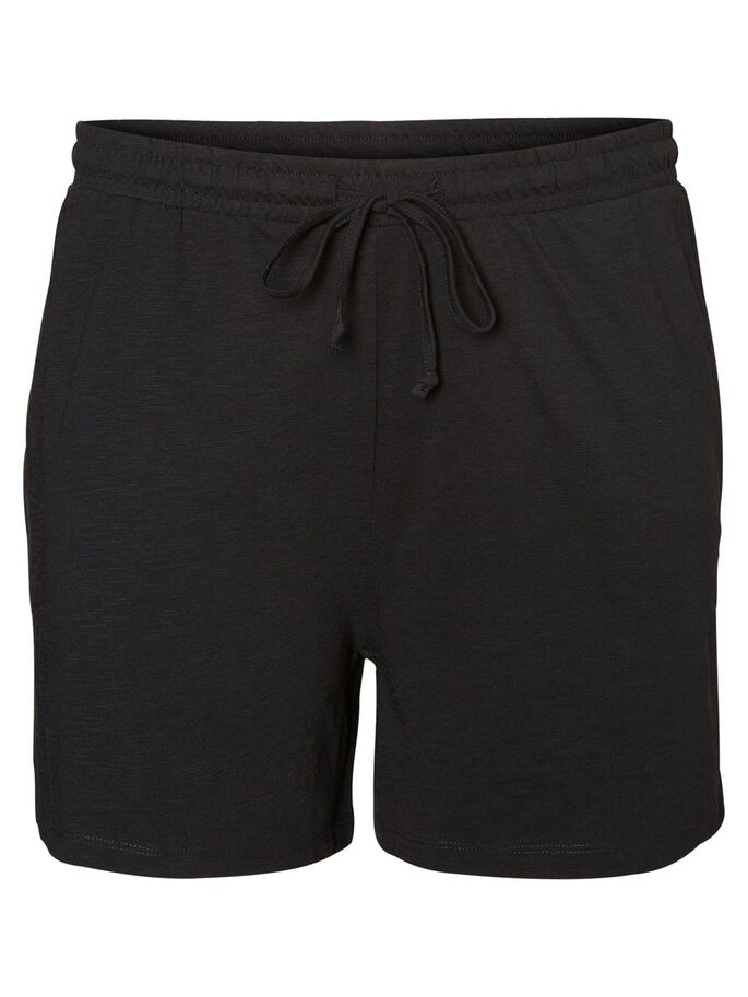 LOOSE SHORTS, Black, large