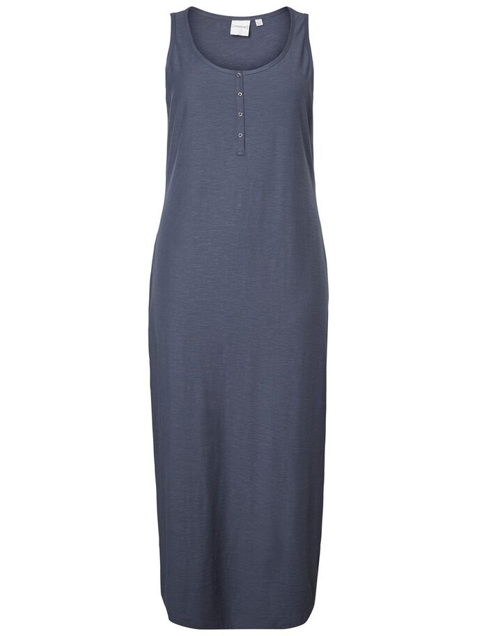 SLEEVELESS DRESS, Ombre Blue, large